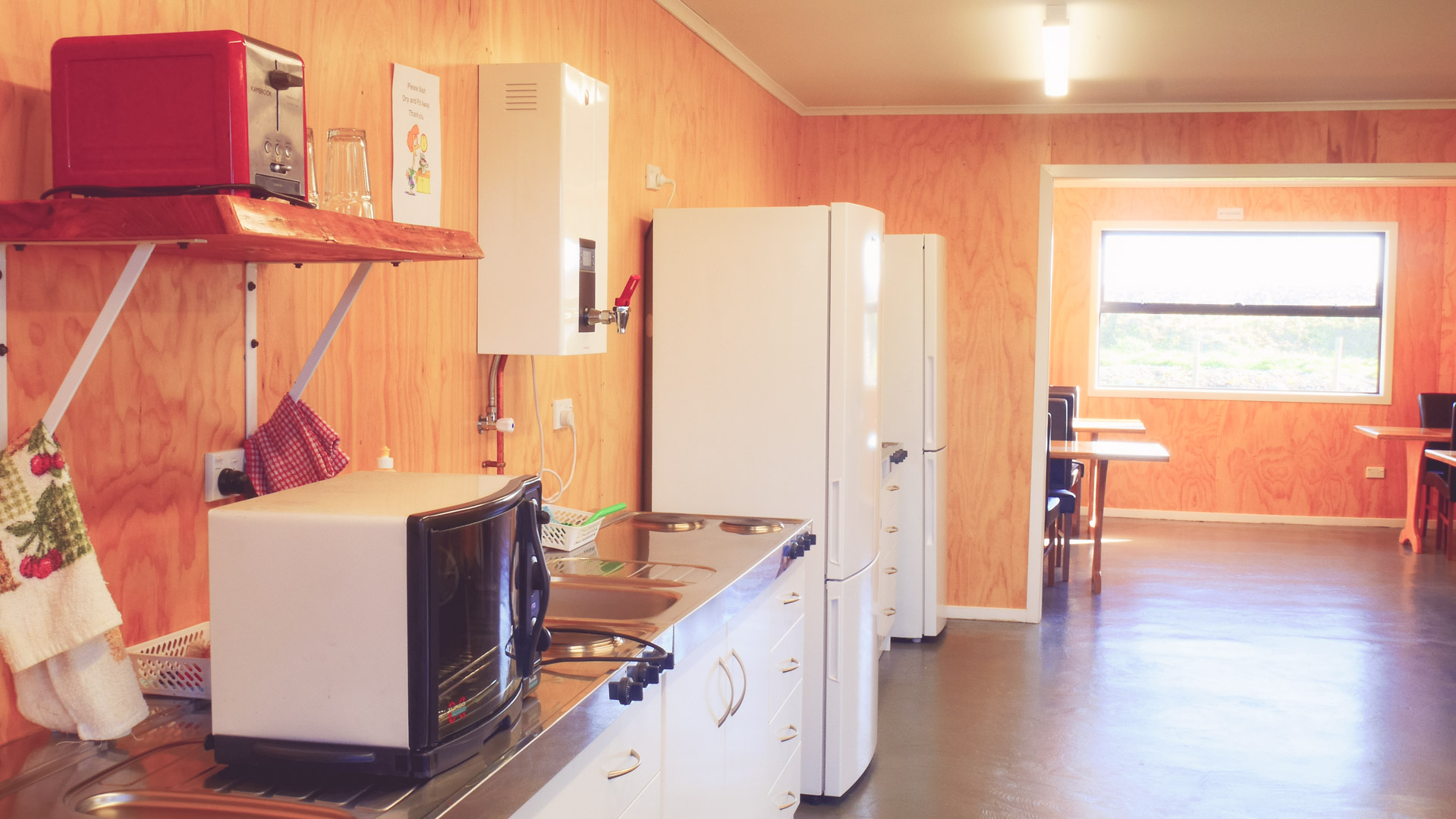 Hokitika Holiday Park Kitchen